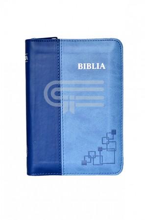 Biblia - format MIC - 046 PF - albastru
