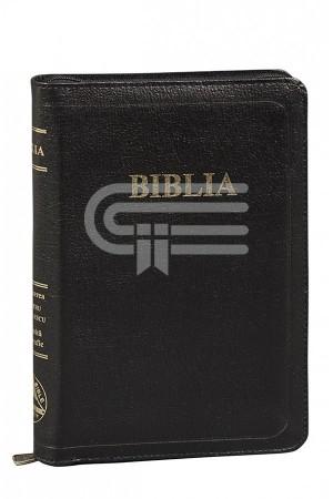 Biblia - 057 ZTI - negru - format mediu, ediție de lux