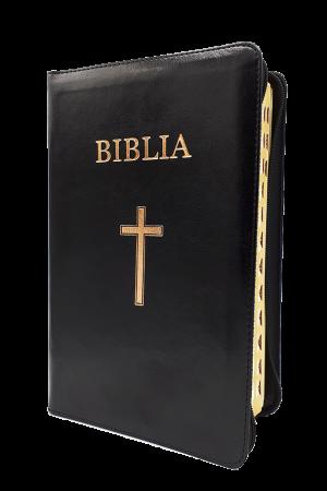 Biblia - ediție aniversară 076 PF - negru - format MARE