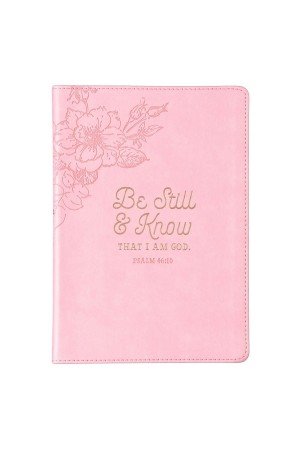Jurnal de lux - Be still and know... - format mare