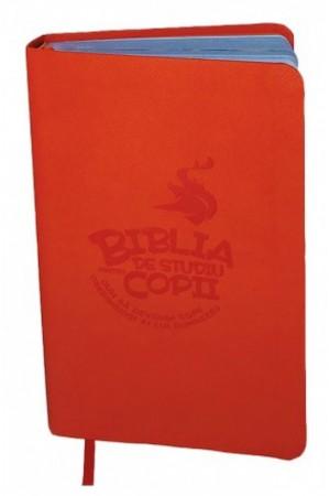 Biblia de studiu pentru copii-flexibila-front cover