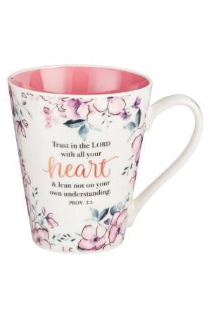 Cană din ceramică - Trust in the Lord...