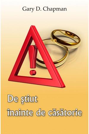 De ştiut înainte de căsătorie