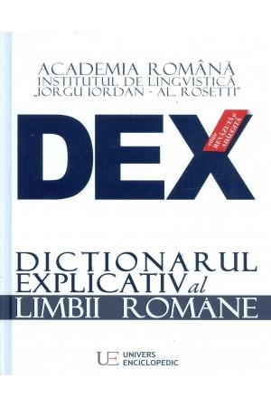 Dicționarul Explicativ al Limbii Române (DEX) - ediția 2016