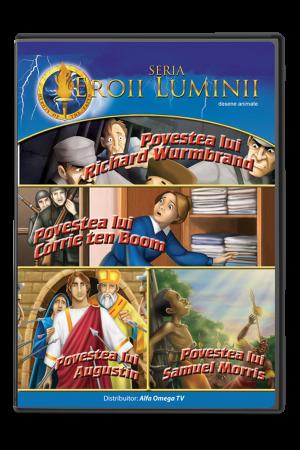 Eroii Luminii - volumul 3 - desene animate pentru copii