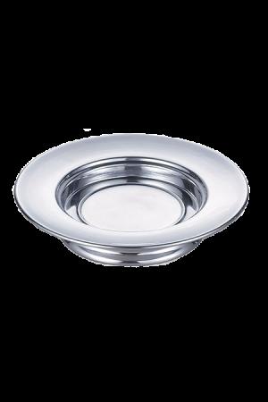 Farfurie pentru pâine - MODEL 2 - argintiu lucios