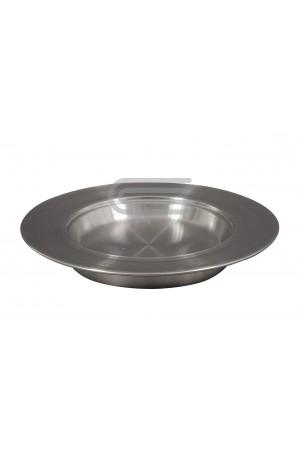 Farfurie pentru pâine - MODEL 1 - argintiu mat