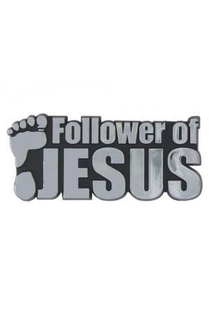 Emblemă auto - Follower of Jesus