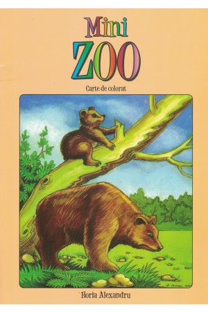 Mini ZOO - carte de colorat
