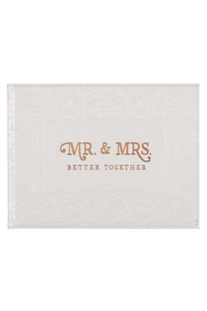 Album de nuntă - Mr. & Mrs. - Better Together