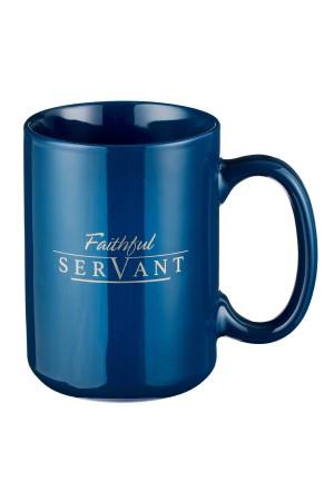 Cană ceramică -- Faithful servant