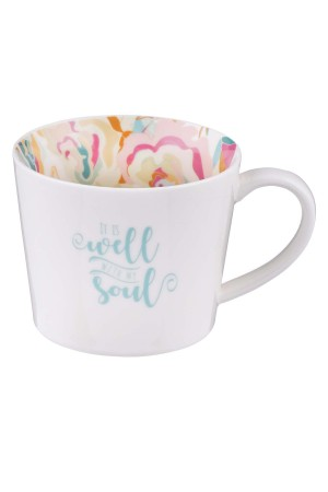 Cană ceramică -- It is well with my soul