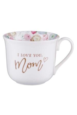 Cană ceramică -- I love you mom