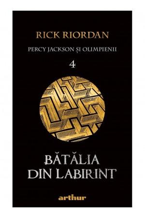 """Bătălia din Labirint - seria """"Percy Jackson şi Olimpienii"""", vol. 4"""