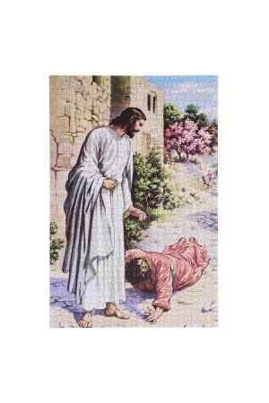 Puzzle 1000 de piese - Jesus, friend of sinners