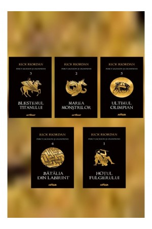 Percy Jackson şi Olimpienii - seria (5 volume)