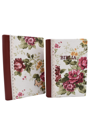 Set Biblie + jurnal handmade - model 7