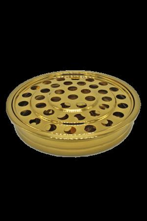 Tavă pentru pahare - MODEL 2 - auriu lucios