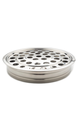 Tavă pentru pahare - MODEL 2 - argintiu lucios
