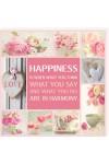 Tablou colaj vintage - Happiness