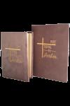 Set Biblie + jurnal handmade - model 22