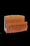 Suport pentru cărți de vizită - Gott ist für uns - GBC05-796D
