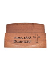 Suport pentru cărți de vizită - Nimic fără Dumnezeu - GBC05-444R