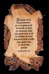 Tablou din lemn - Domnul să te binecuvânteze - EU60-357R
