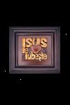 Tablou din lemn - Isus te iubește - FS-51R