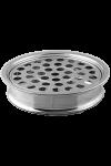 Tavă pentru pahare - MODEL 1 - argintiu lucios