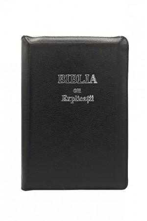 Biblia - ediție de lux 077 ZTI  - argintiu - format MARE