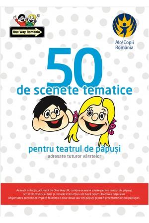 50 de scenete tematice pentru teatrul de păpuși