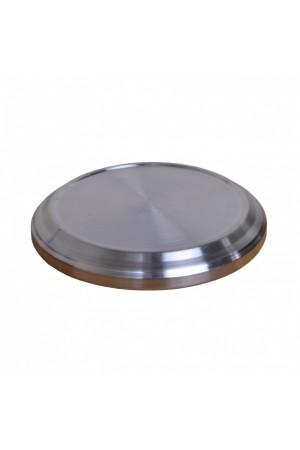Bază pentru farfuriile cu pâine - MODEL 1 - argintiu lucios