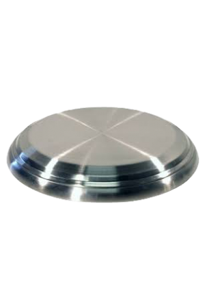 Bază pentru tăvile cu pahare - argintiu lucios