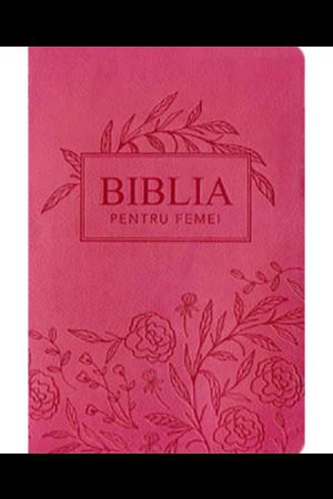 Biblia pentru femei - roz, mare
