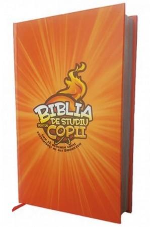 Biblia de studiu pentru copii-cartonata-front cover