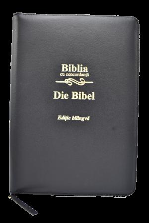 Biblie - ediție bilingvă română-germană-CO-PF - cu concordanță