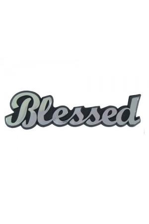 Emblemă auto - Blessed