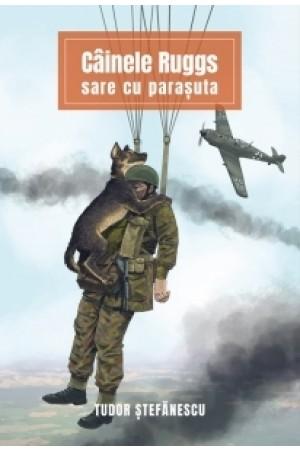 Câinele Ruggs sare cu parașuta
