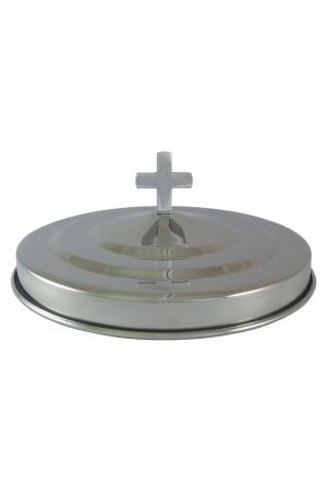 Capac pentru farfuria cu pâine - MODEL 2 - argintiu lucios