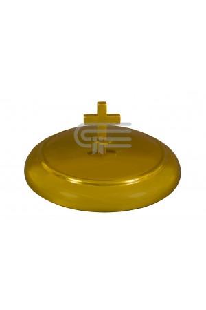 Capac pentru farfuria cu pâine - MODEL 1 - auriu mat