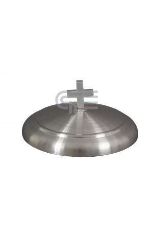 Capac pentru farfuria cu pâine - MODEL 1 - argintiu mat