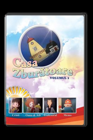 Casa zburătoare - volumul 1 - desene animate