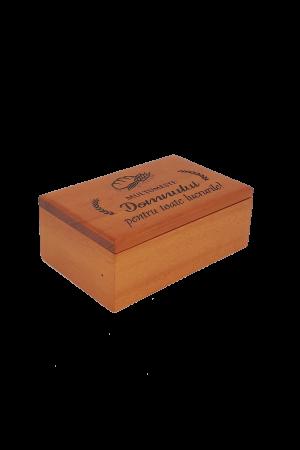 Cutiuță din lemn - Mulțumește Domnului pentru toate lucrurile! - BEP4-07R