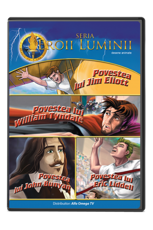 Eroii Luminii - volumul 1 - desene animate pentru copii