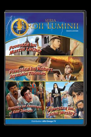 Eroii Luminii - volumul 4 - desene animate pentru copii