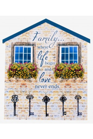 Suport chei decorativ - Family