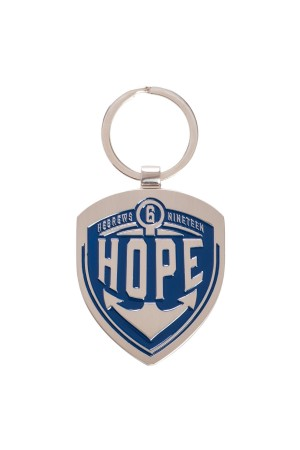 Breloc metalic - Hope - Hebrews 6:19