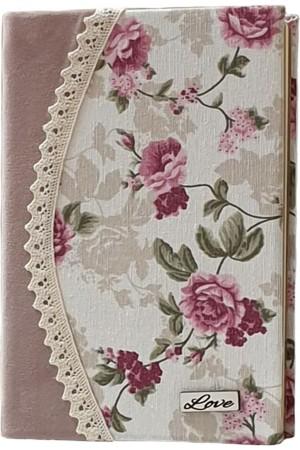 Jurnal handmade - model floral 18