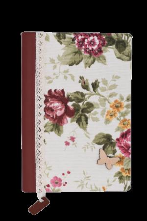Jurnal handmade - model floral 7